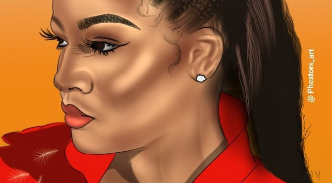 Realistic Cartoon Portrait